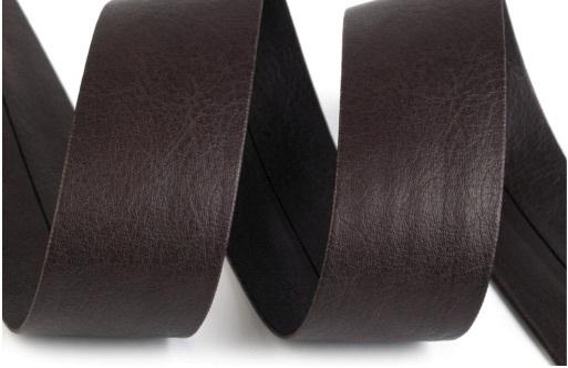 schr gband kunstleder dark brown 30mm. Black Bedroom Furniture Sets. Home Design Ideas