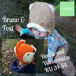 Freebook Bruno& Foxi Mütze 34-54