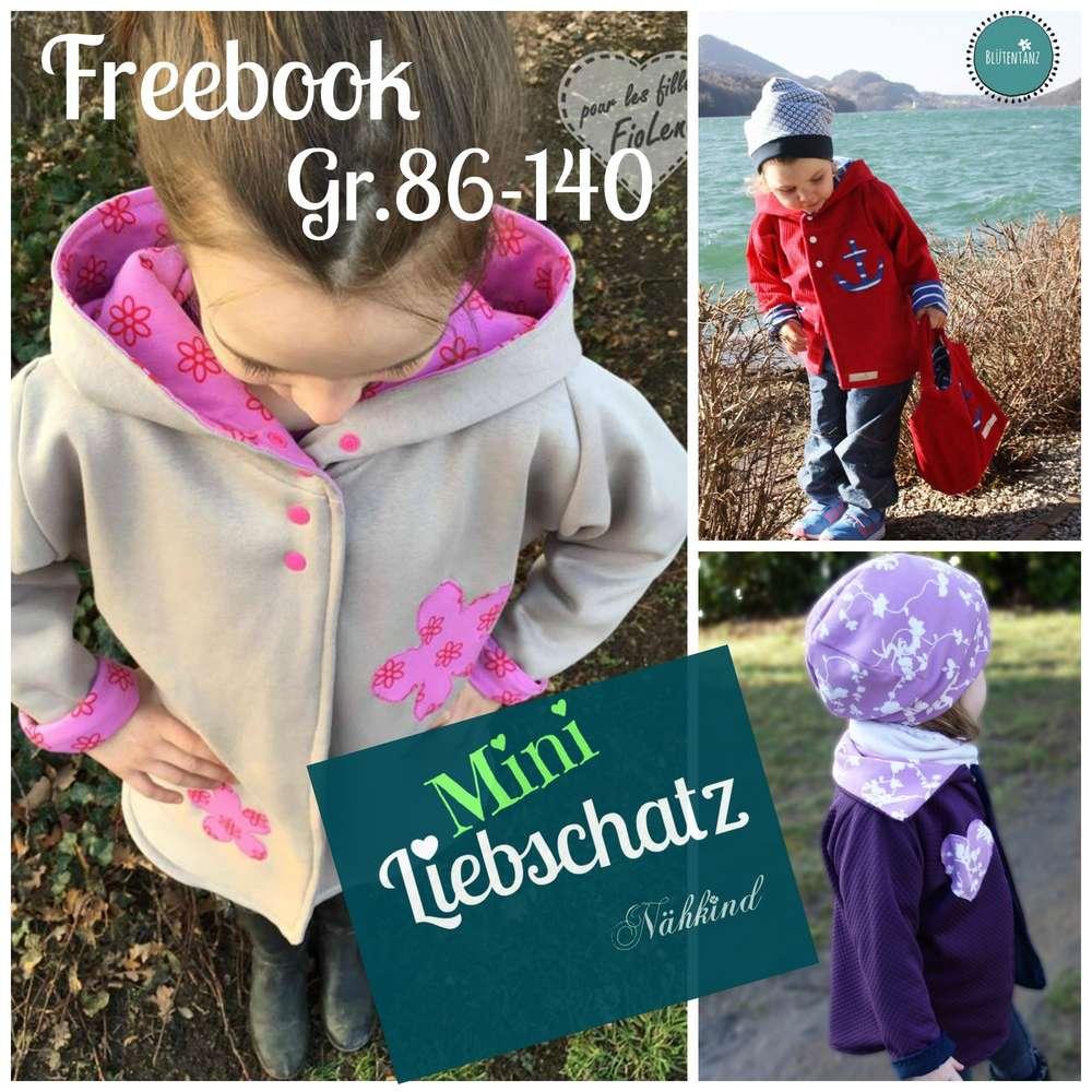 Baby jacke freebook