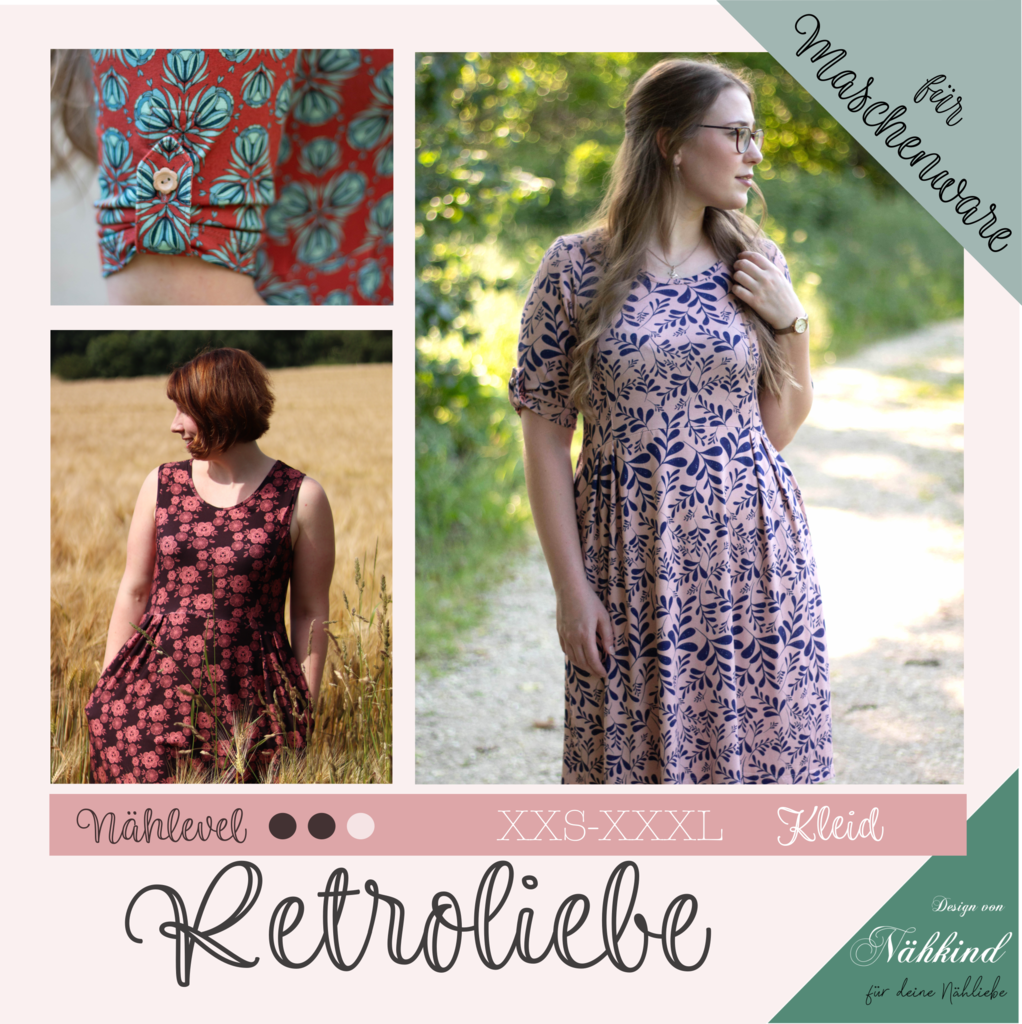 eBook Retroliebe Jerseykleid