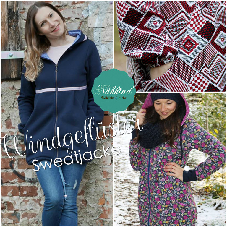 eBook Windgeflüster Sweatjacke